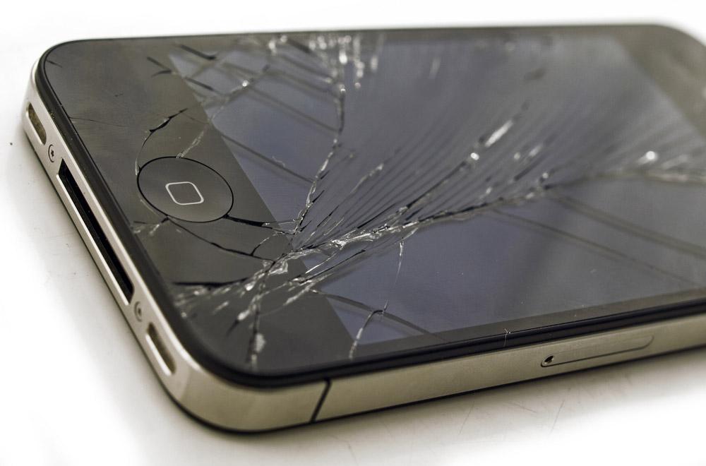 Garanzia iPhone: i danni allo schermo e al vetro sono esclusi e sempre a carico del cliente.