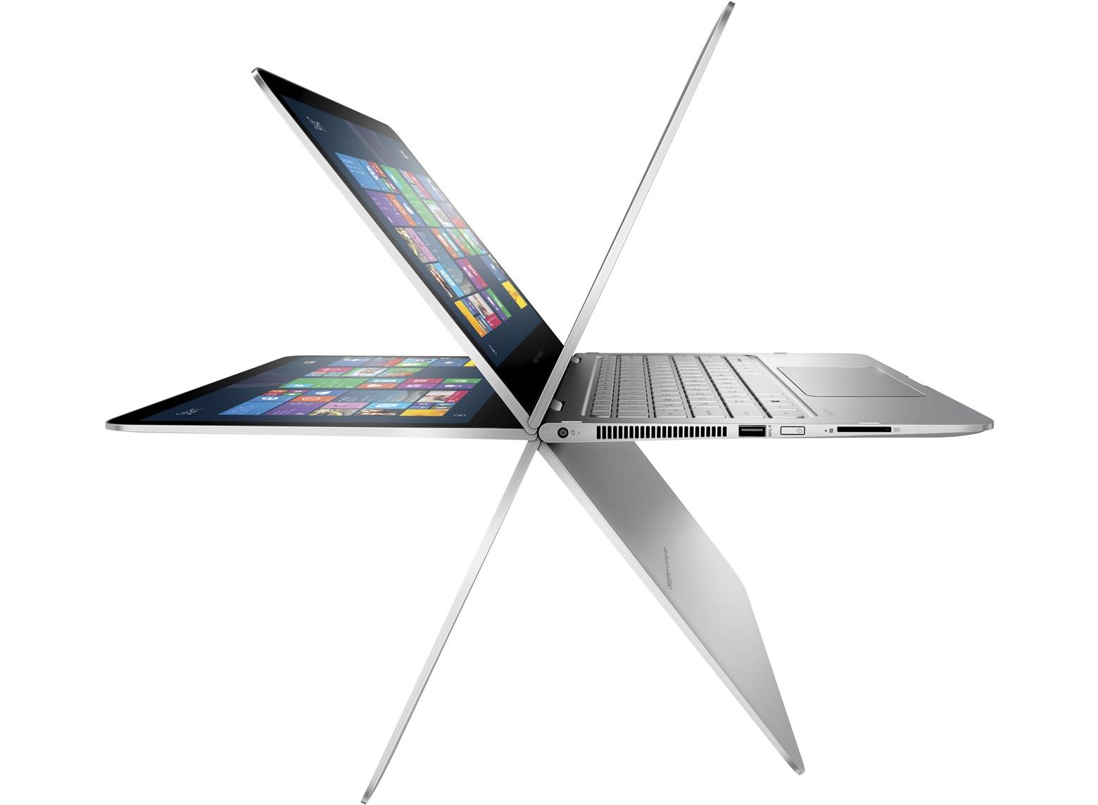 La flessibilità dello schermo del nuovo HP Spectre x360
