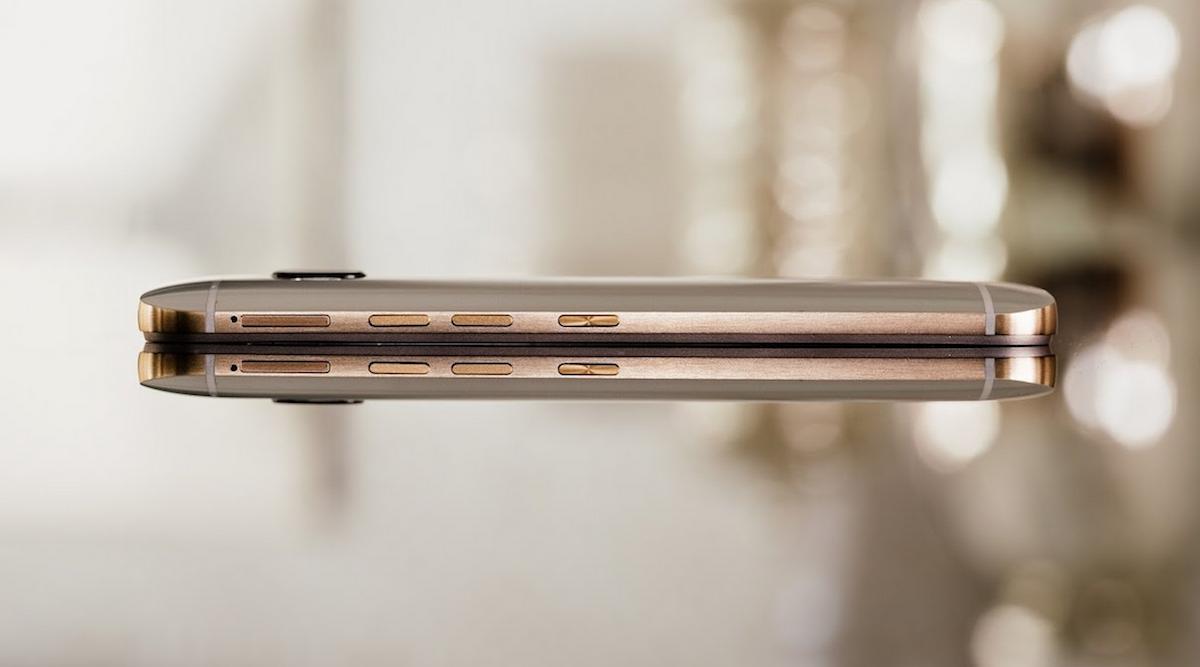 Ecco come si presenta HTC One A9 sul lato
