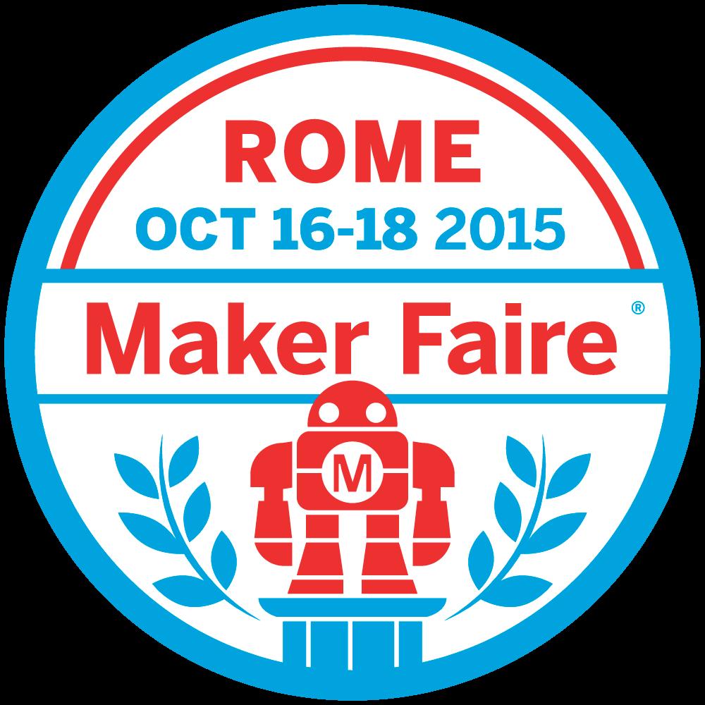 Il logo dell'edizione 2015 della Maker Faire a Roma