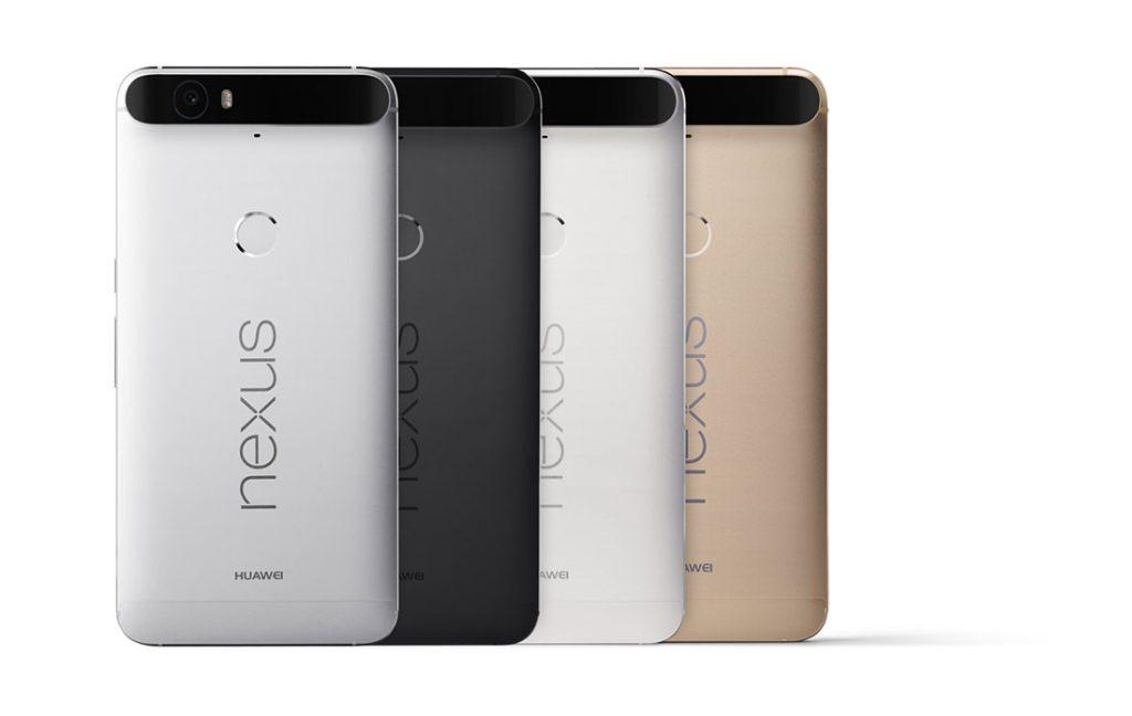 Nexus 6P: quattro le colorazioni proposte al debutto, caratterizzate da tonalità sobrie e adatte a ogni situazione.
