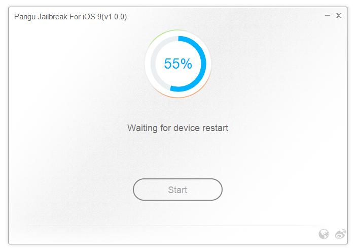 Il jailbreak di iOS 9. La guida completa. Riavvii e rallentamenti sono normali durante la procedura di jailbreaking.