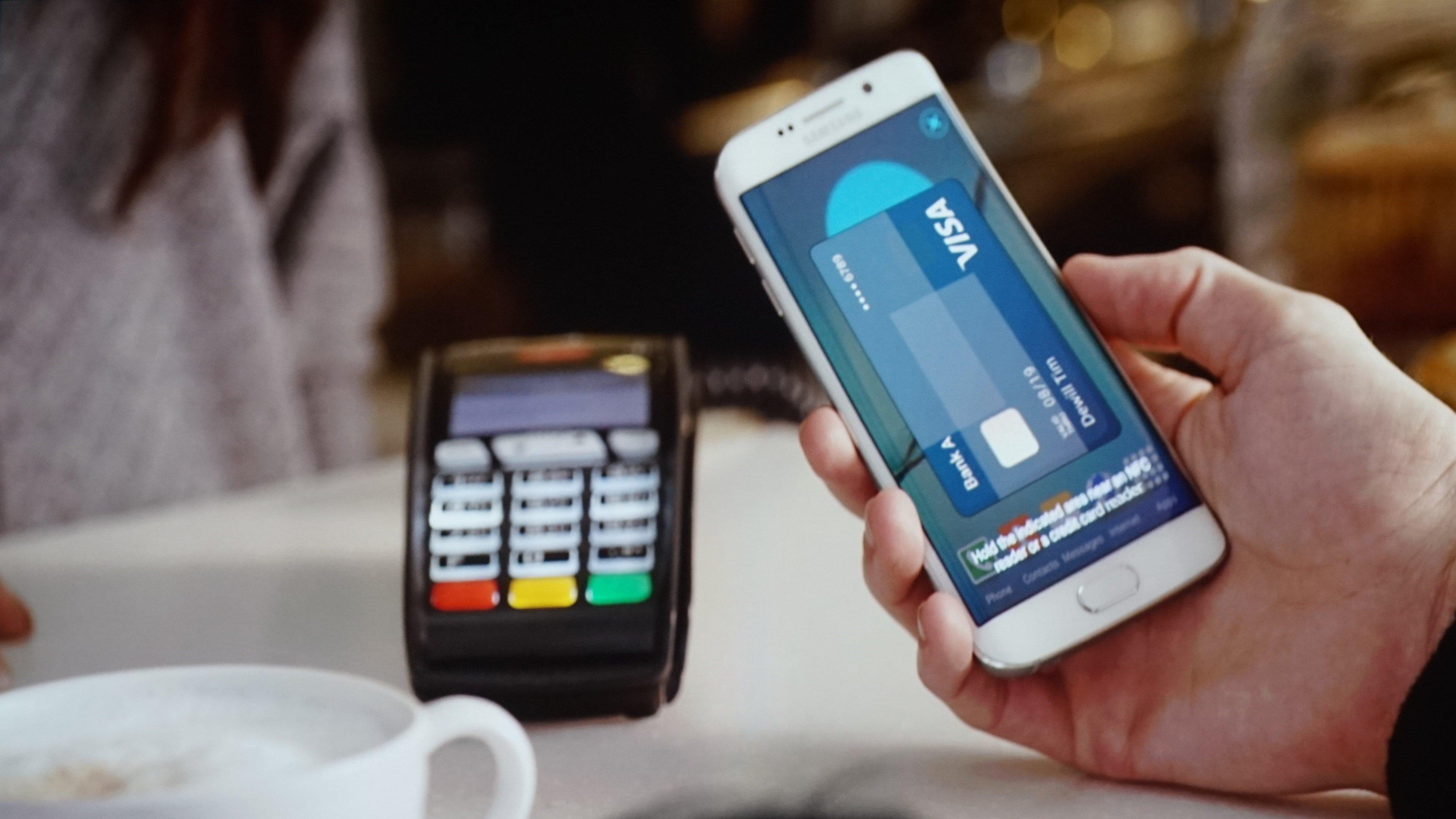 La Samsung Pay utilizza sia la tecnologia NFC sia quella MST