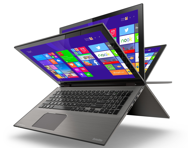 Le cerniere del Toshiba Satellite Radius 14 permettano la rotazione dello schermo in modalità tablet