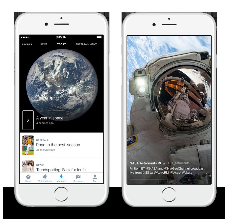 Twitter Moments: come cambierà l'esperienza d'uso degli utenti del social dedicato al Microblogging.