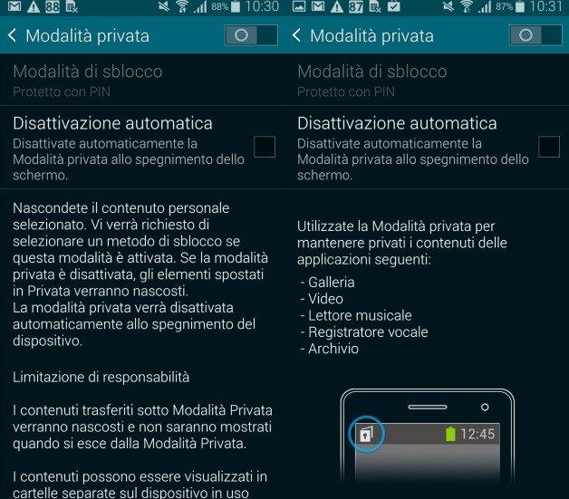 nascondere le immagini e foto con android senza scaricare app