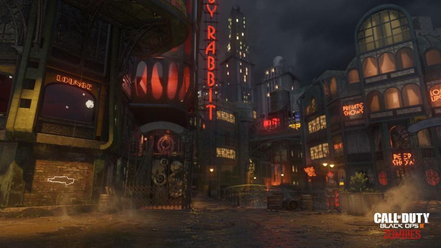 Call of Duty Black Ops III: la modalità zombie è ambientata nelle metropoli americane degli anni 40.