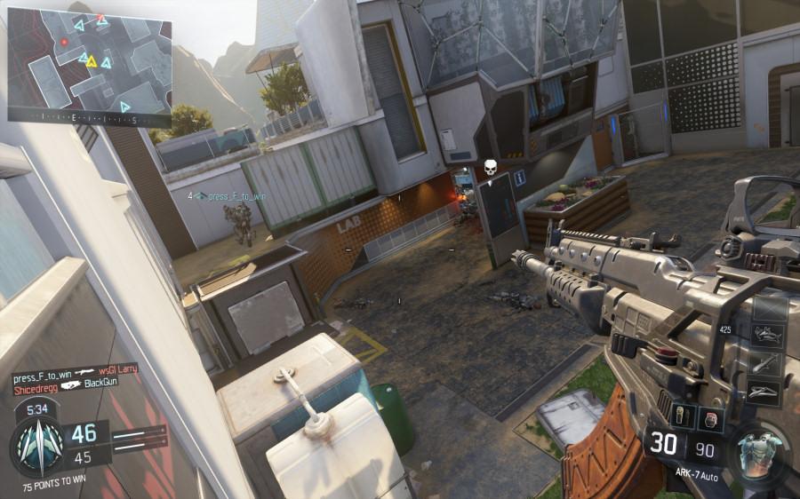 Call of Duty Black Ops III: le abilità dei personaggi includono la possibilità di camminare sui muri e compiere salti di decine di metri.