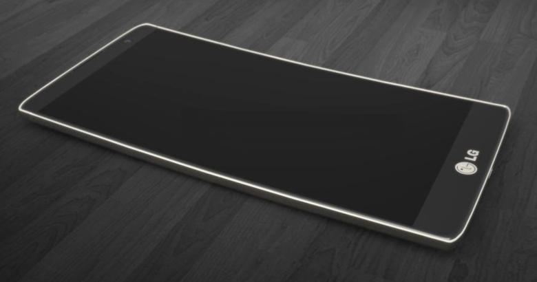 LG G5, novità e caratteristiche in anteprima. Per la prima volta, potrebbe essere introdotta una scocca interamente in metallo (nella foto, un'elaborazione grafica).