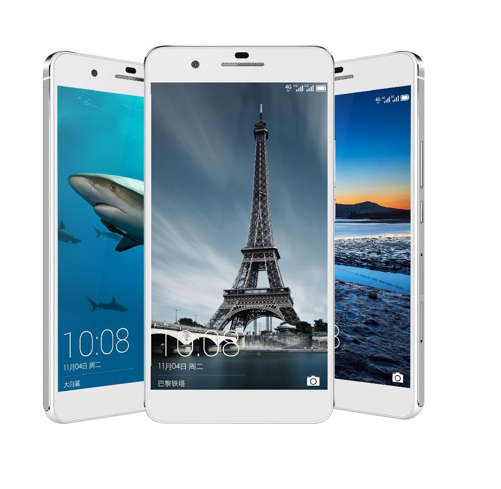 L'Huawei Honor 6 Plus, uno tra i migliori smartphone Huawei, nella versione bianca.