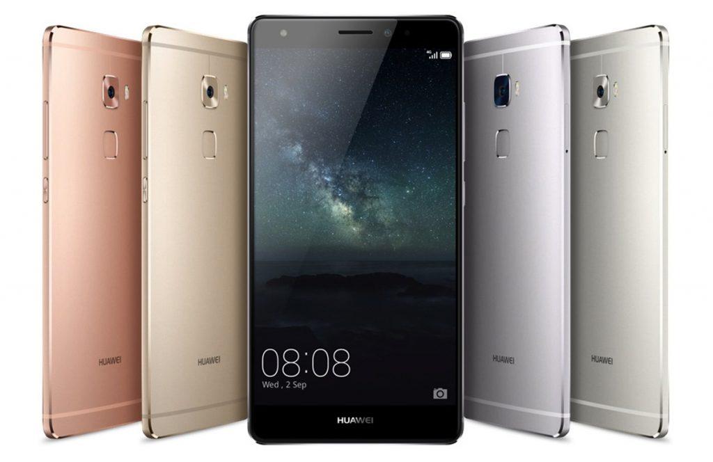 Tutte le colorazioni disponibili dell'Huawei Mate S, uno tra i migliori smartphone Huawei.