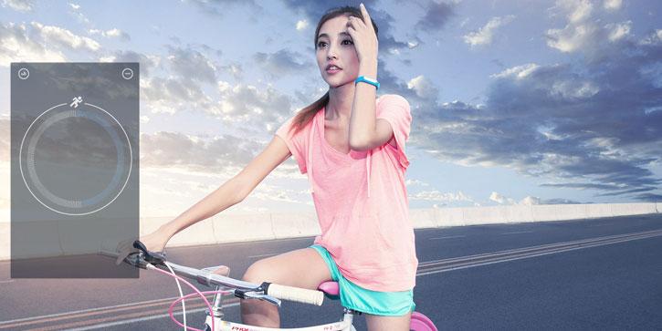 Xiaomi Mi Band. Il braccialetto fitness esegue dei report accurati delle prestazioni fisiche