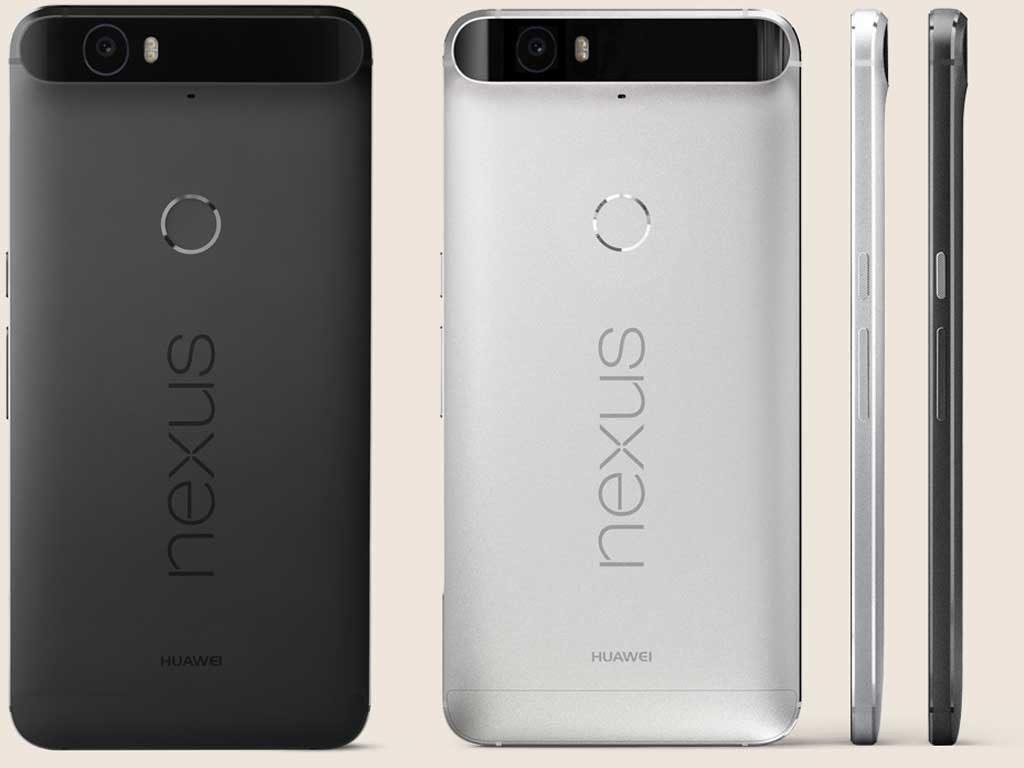 La scocca posteriore dell'Huawei Nexus 6P, uno tra i migliori smartphone Huawei, nel dettaglio.