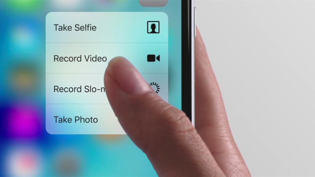 3D Touch, trucchi e segreti: con le funzioni Peek e Pop, scattarsi una foto o condividere un selfie è questione di pochi secondi.