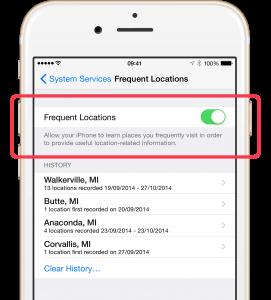 La sicurezza di iOS9, la tracciabilità dello smartphone