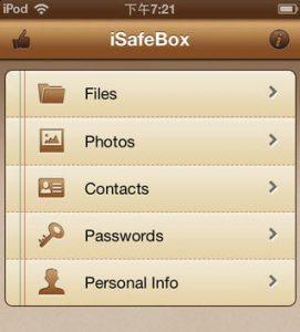 Come ritrovare uno Smartphone rubato: iSafe Box è una cassaforte cifrata per i dati iPhone