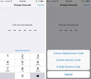La sicurezza di iOS 9: più combinazioni con il nuovo codice