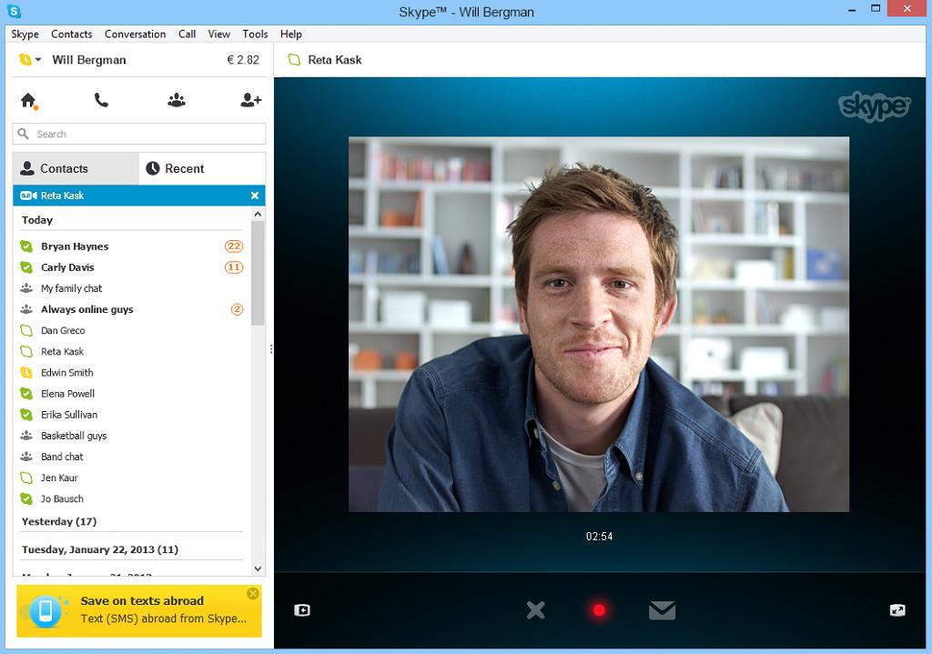 La sicurezza di Skype. Le videochiamate possono essere registrate e redistribuite