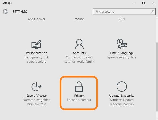La privacy di Windows 10: quali restrizioni possiamo imporre all'emorragia di dati