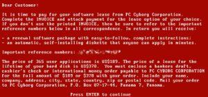 PC Cyborg, il primo Ransomware della storia