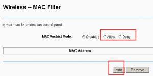 Come proteggere un router Belkin. Utilizziamo il filtro degli indirizzi MAC per gestire i dispositivi che hanno accesso alla nostra rete