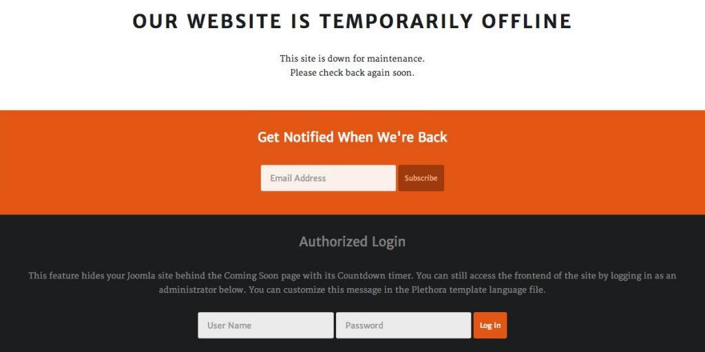 Per eliminare virus da un sito web è necessario, per prima cosa, mettere offline il sito stesso