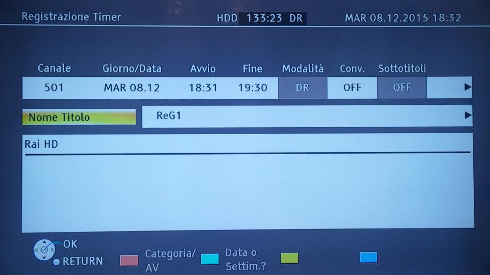 Il Panasonic DMR-BWT745EC può registrare contemporaneamente 2 programmi TV grazie al doppio decoder incorporato