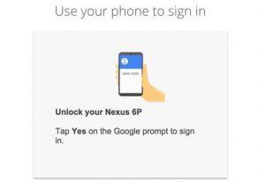 Google: login via notifica prevede l'associazione di uno smartphone o un tablet per completare l'accesso in sicurezza