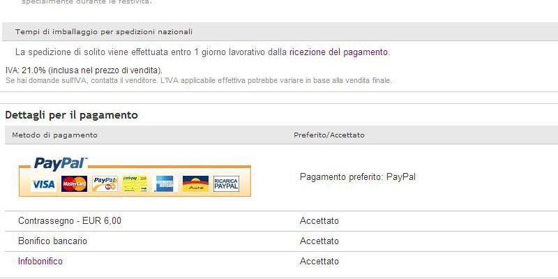 Comprare sicuri su eBay è facile se si utilizza un metodo di pagamento garantito e trasparente