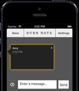 BurnNote è una piattaforma molto diffusa tra chi vuole inviare messaggi che si autodistruggono