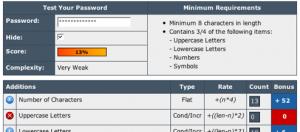 Verificare quanto è forte la password del vostro account è molto utile per proteggere Gmail da un hacker
