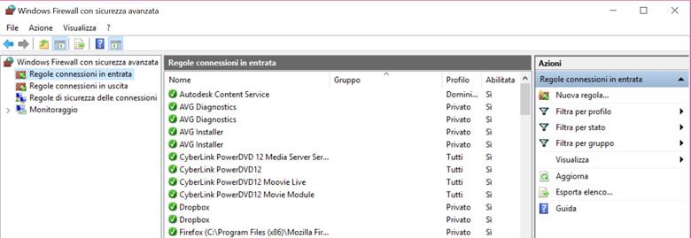 Bloccare un programma con Windows Firewall è un'operazione semplice e completamente guidata