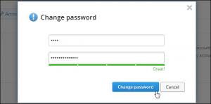 Per proteggere un account Dropbox al meglio è consigliabile modificare periodicamente la password di accesso