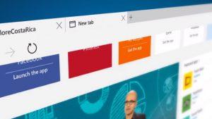 Per proteggere Microsoft Edge il browser è stato progettato proprio come una app e si aggiorna tramite Windows Store