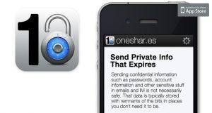 Oneshar.es è un servizio a pagamento per inviare messaggi che si autodistruggono molto valido