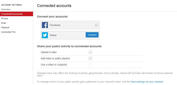 Proteggere un profilo YouTube: attenzione agli account connessi, potrebbero mostrare i video su tutti i nostri Social.
