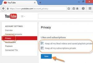 Proteggere un profilo YouTube: le impostazioni di Privacy sono fondamentali per mettere al sicuro i propri video.