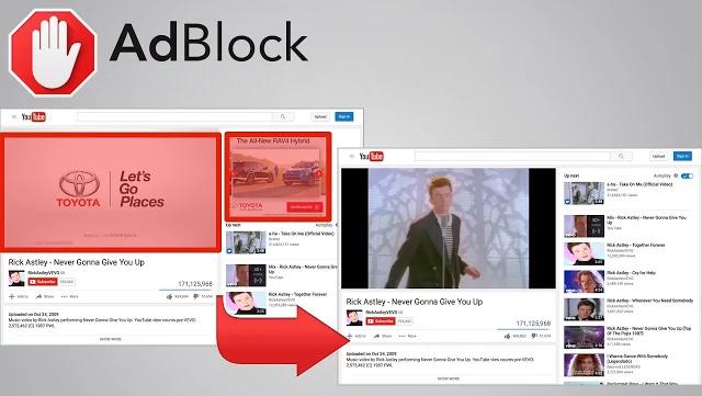 AdBlock è una delle estensioni per il blocco della pubblicità più popolari per il browser Google Chrome