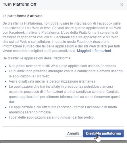 Per chi desidera la massima privacy, è possibile eliminare le app Facebook con un unico clic.