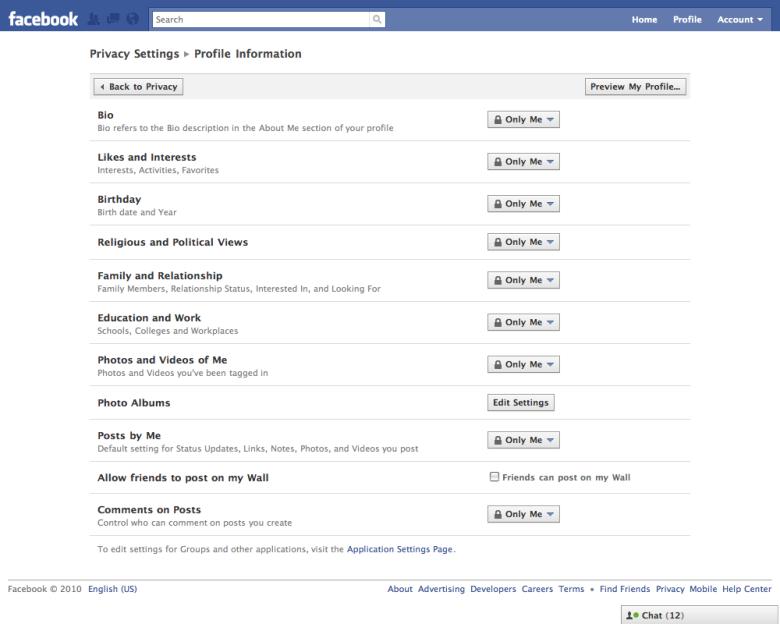 Aumentare la privacy Facebook è possibile: dalle impostazioni della privacy è possibile agire su numerose opzioni