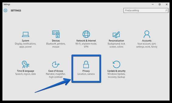 Sicurezza Windows 10: le impostazioni legate alla privacy permettono di mettere al sicuro molti dati personali.