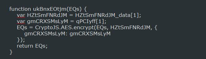 Routine di criptazione dei file da parte di RAA
