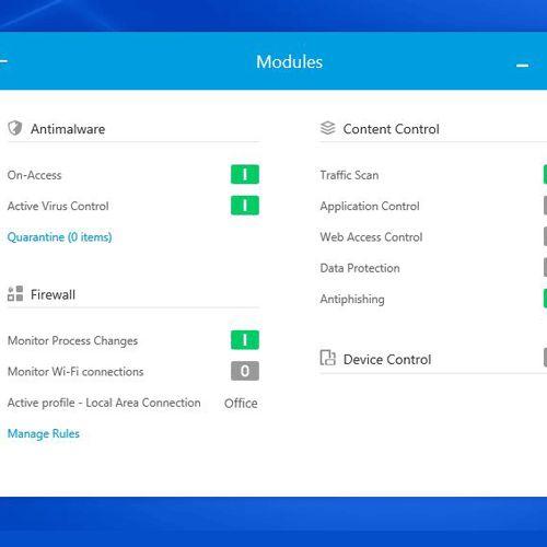 bitdefender gravityzone business modulo content control