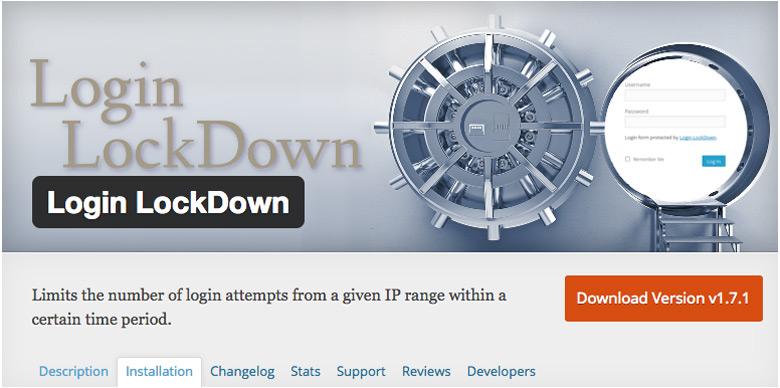 migliori plugin di sicurezza per WooCommerce Login LockDown