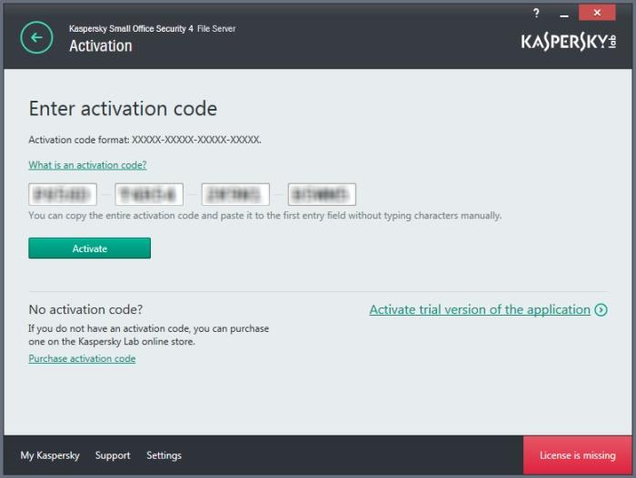 kaspersky small office security 4 recensione codice attivazione