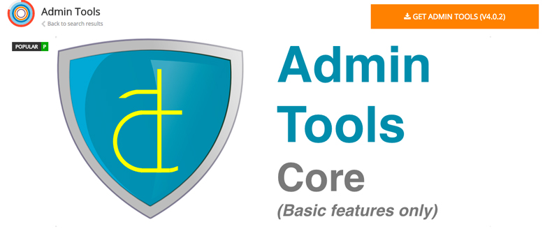 plugin di sicurezza per Joomla! Admin Tools