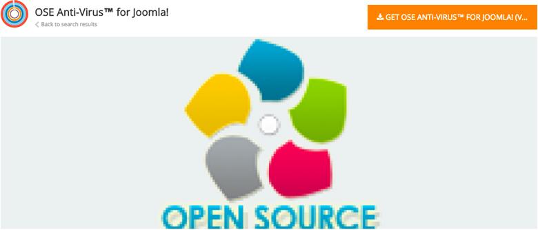 plugin di sicurezza per Joomla! Ose Joomla Anti-Virus