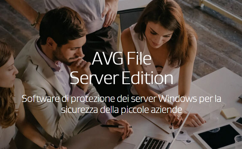 software per la sicurezza dei server avg file server edition