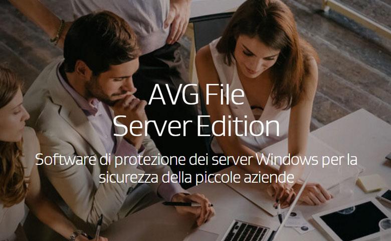 software per la sicurezza dei server avg file server edition