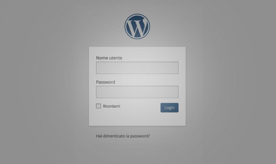 Mettere in sicurezza il login di Wordpress. Guida rapida